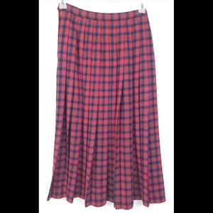 Vintage Pendleton MacDuff Tartan Virgin Wool Skirt